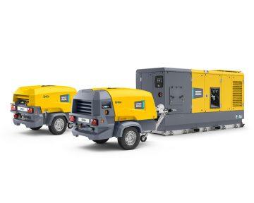 Compressor elétrico portátil E-Air (Acionamento de Velocidade Variável)
