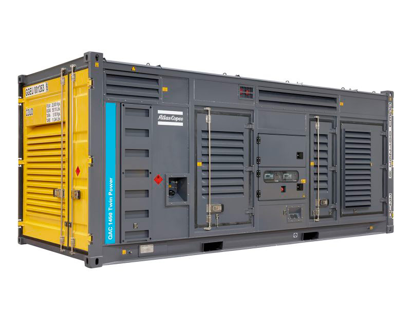 Gerador Twinpower em container a diesel