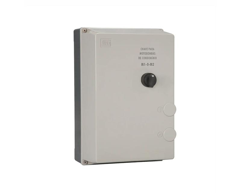 Partida Direta Trifásica com Comutação Manual para 2 Motores PDWC